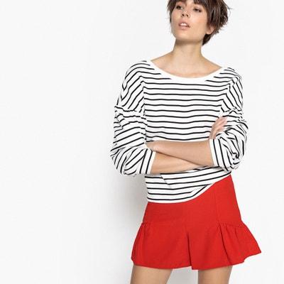 Breton Stripe Cotton Sweatshirt La Redoute Collections