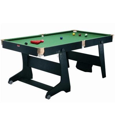 FS-6 TT-1 Table de billard pliable convertible ping pong fléchettes RILEY