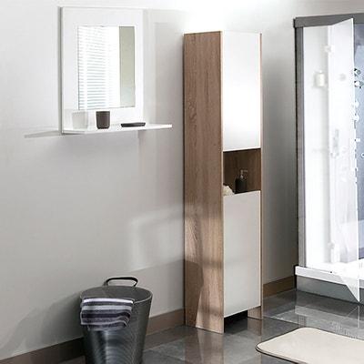 Armoire colonne de salle de bain, Banero Armoire colonne de salle de bain, Banero La Redoute Interieurs