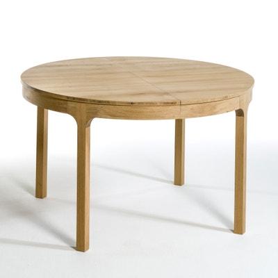Table ronde Ø120 cm à allonge, Amalrik Table ronde Ø120 cm à allonge, Amalrik AM.PM.