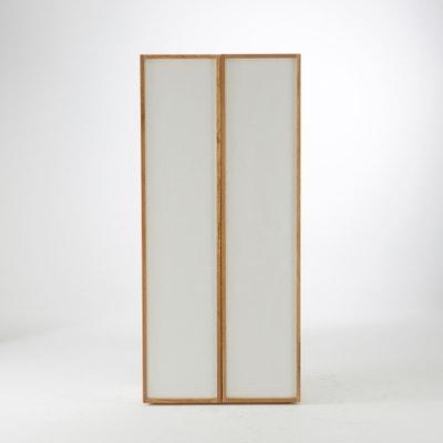Compo Solid Oak 5 Shelf Wardrobe Compo Solid Oak 5 Shelf Wardrobe La Redoute Interieurs