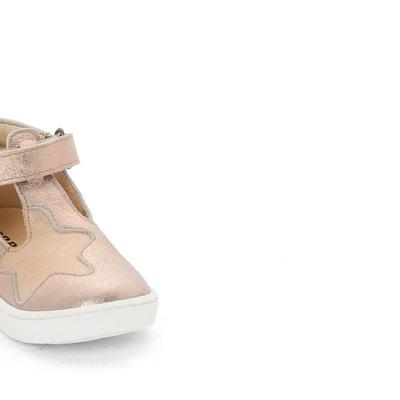 Kids Parthenon Iridescent Leather T-Bar Shoes GBB