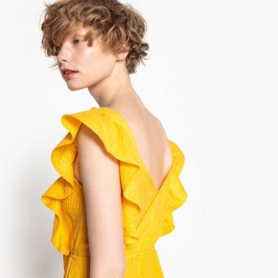 Robe jaune redoute