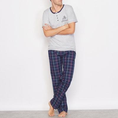 Pyjama bi-matière La Redoute Collections