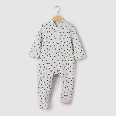 "Pyjama Sweatware ""Tupfen"" 0 Monate - 3 Jahre Pyjama Sweatware ""Tupfen"" 0 Monate - 3 Jahre La Redoute Collections"