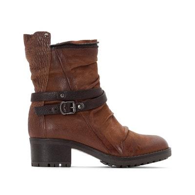 Boots cuir Misa Boots cuir Misa MJUS