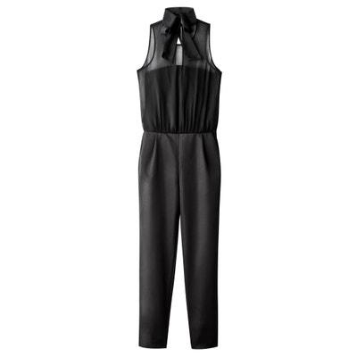 Combinaison pantalon bi-matière Combinaison pantalon bi-matière MADEMOISELLE R