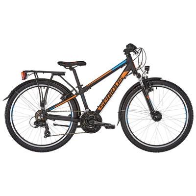 "Rockville Street - Vélo enfant - 24"" orange/noir Rockville Street - Vélo enfant - 24"" orange/noir SERIOUS"