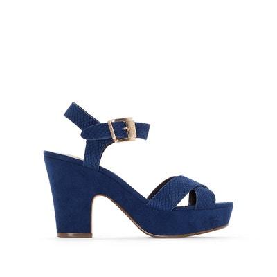 Lyla Heeled Platform Sandals DUNE LONDON