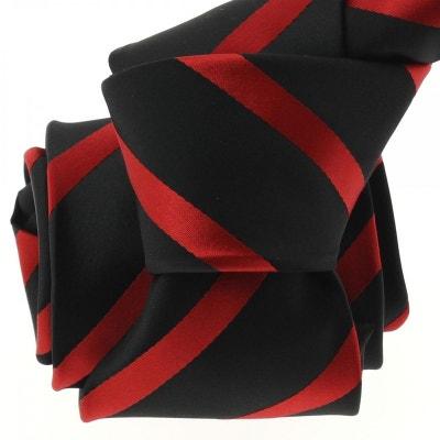 Cravate CLJ, Urban rouge Cravate CLJ, Urban rouge CLJ CHARLES LEJEUNE