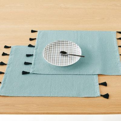 Podkładki na stół z bawełny POMPONS, zestaw 2 szt. La Redoute Interieurs