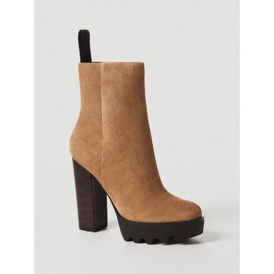 Boots Daim En Solde La Redoute