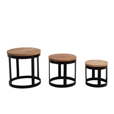 table gigogne la redoute. Black Bedroom Furniture Sets. Home Design Ideas