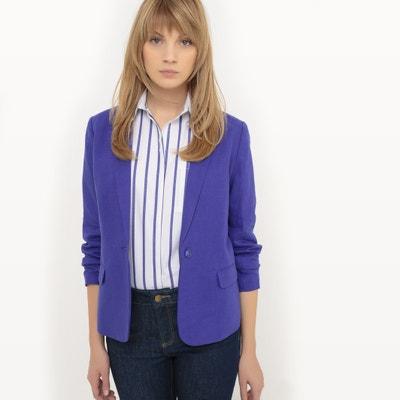 Veste blazer, lin La Redoute Collections
