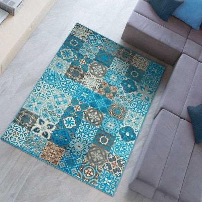 tapis de salon moderne design bc titan polypropylne fabriqu en europe dezenco - Tapis Turquoise