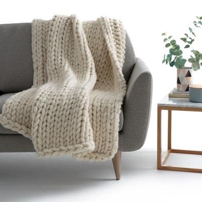 Plaid en tricot LAPLAND La Redoute Interieurs
