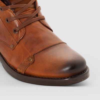 Leder-Boots YEDES REDSKINS