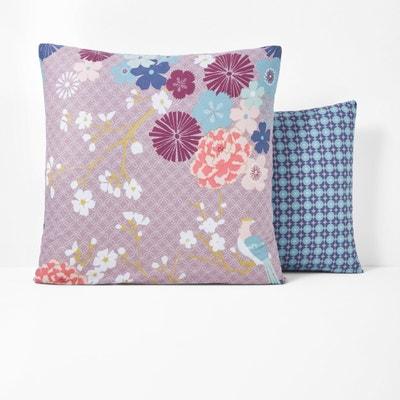Poszewka na poduszkę, MISS CHINA, purpurowa La Redoute Interieurs