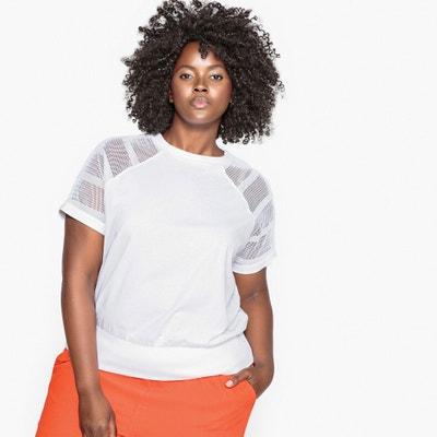 Tee-shirt détail résille épaules et dos CASTALUNA