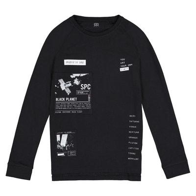 Tee shirt manches longues imprimé 10-16 ans Tee shirt manches longues  imprimé 10-. Soldes. LA REDOUTE COLLECTIONS 2a2db5a777f2