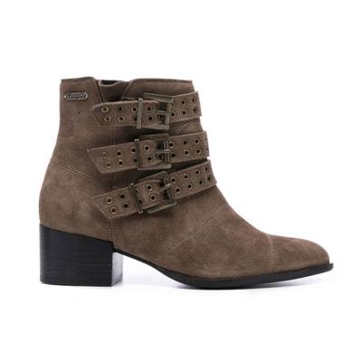 f4eeb5c82fe38 Boots cuir Waterloo Boots cuir Waterloo PEPE JEANS