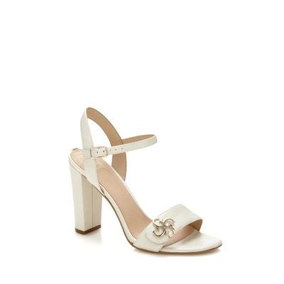 Sandales compensées FEMME SECRêTE cuir beige 39 Hm905l0vzA
