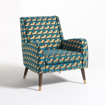 fauteuil y fauteuil y la redoute interieurs - Fauteuil Bleu Canard Pas Cher