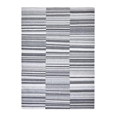 Plat geweven tapijt met kilim motief Gilderoy AM.PM.