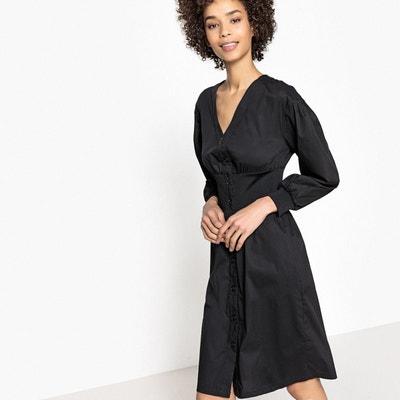 Robe noir mi longue