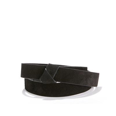 Cinturón de piel aterciopelada Cinturón de piel aterciopelada La Redoute Collections