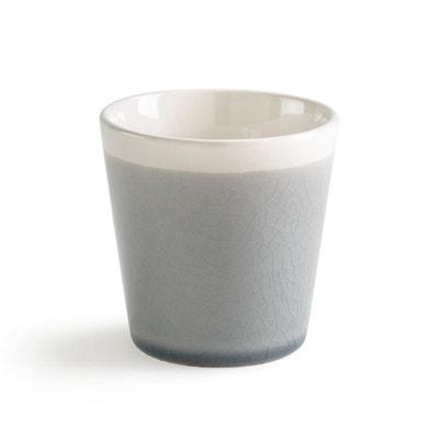 Lot 4 tasses à café craquelées, GOGAIN Lot 4 tasses à café craquelées, GOGAIN La Redoute Interieurs