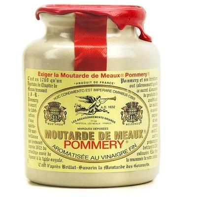 Moutarde de Meaux Pommery - Pot en grès 250g Moutarde de Meaux Pommery - Pot en grès 250g LES ASSAISONNEMENTS BRIARDS