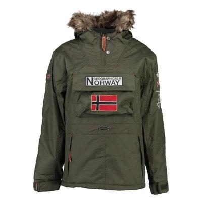 Parka 3/4 BOOMERANG con capucha, semilarga Parka 3/4 BOOMERANG con capucha, semilarga GEOGRAPHICAL NORWAY