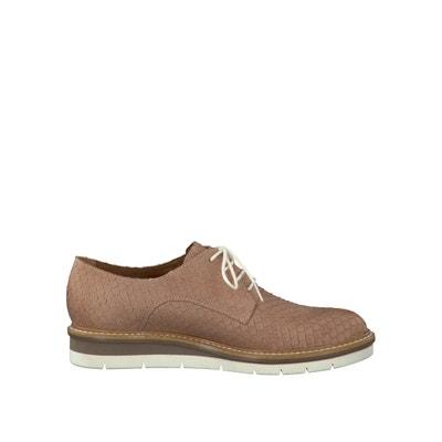 Ботинки-дерби кожаные TAMARIS