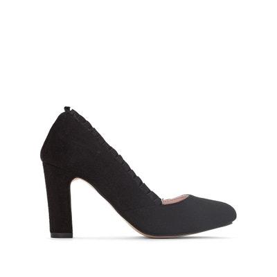 Zapatos de tacón con detalle de volante Zapatos de tacón con detalle de volante MADEMOISELLE R