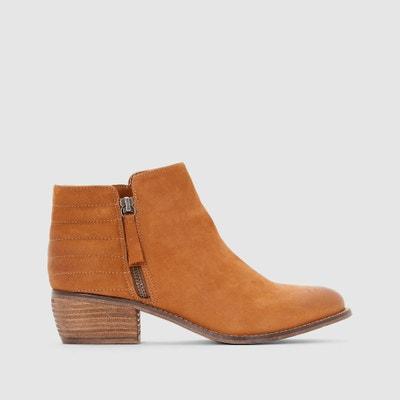 Boots en cuir avec zip Petrie DUNE LONDON