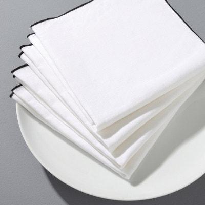 Serviette de table Suzy lin lavé (lot de 4) Serviette de table Suzy lin lavé (lot de 4) AM.PM