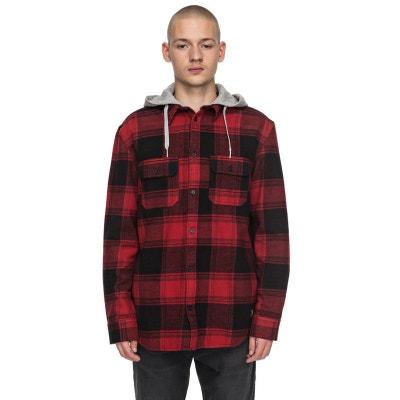 Chemise à manches longues à capuche Runnel Flannel Chemise à manches longues à capuche Runnel Flannel DC SHOES