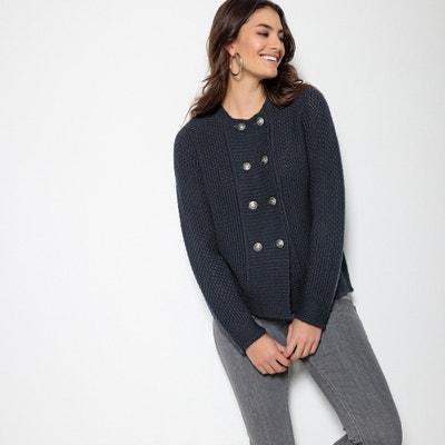 Cardigan con bottoni, maglia grossa, 15% lana Cardigan con bottoni, maglia grossa, 15% lana ANNE WEYBURN