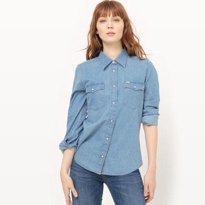 Hemd mit klassischem Hemdkragen und langen Ärmeln LEE