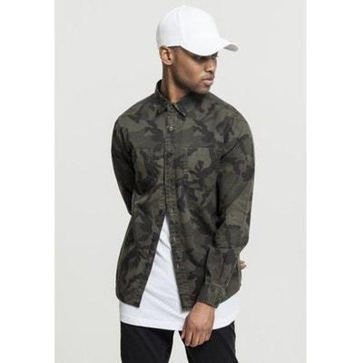 camouflage Redoute en homme Chemise solde La wHaqf686