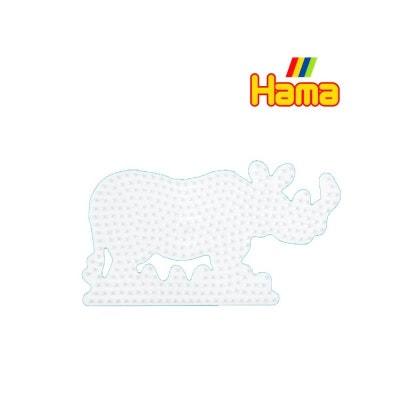 "Hama 295 Plaque - ""Rhinocéros"" Hama 295 Plaque - ""Rhinocéros"" HAMA"