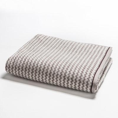 Handdoek in badstof met jacquard visgraatmotief 500g/m2, Cabrio La Redoute Interieurs