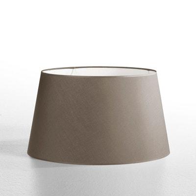 abat jour marron la redoute. Black Bedroom Furniture Sets. Home Design Ideas