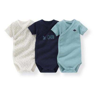Confezione da 3 body bebé da 0 mesi a 3 anni La Redoute Collections