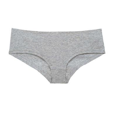 Shorty en coton gris chiné MINA STORM 87d79e0663a