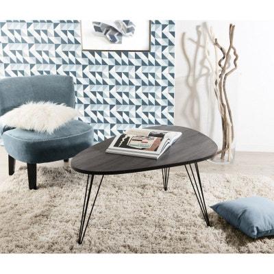 Table basse scandinave en bois H50cm LANDAISE Table basse scandinave en bois H50cm LANDAISE PIER IMPORT
