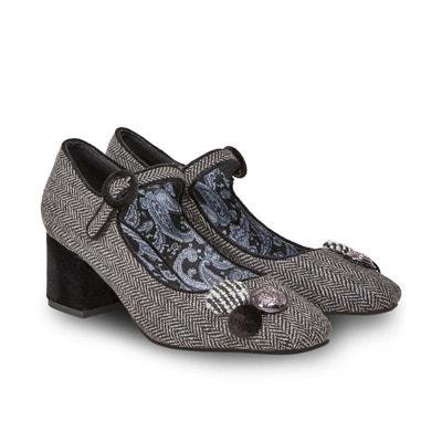 Chaussures Mary Jane à chevrons Chaussures Mary Jane à chevrons JOE BROWNS