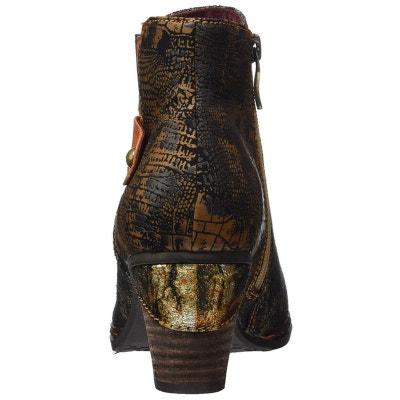 d2c75fabbc999 bottines   boots cuir bottines   boots cuir LAURA VITA. Soldes