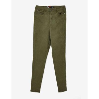 Pantalon skinny taille haute JENNYFER